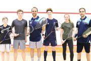 Jugendtraining Squash des Squashboard Münster