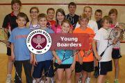 Squash Probetraining und Mannschaftstraining für Jugendliche