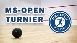 Squashturnier - MS-Open - Münster