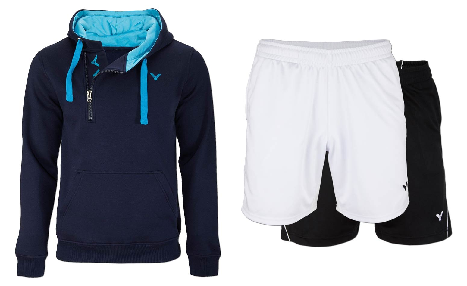 Vereinskleidung - Sweater + Shorts